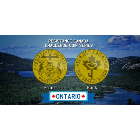 Ontario Resistance Coin